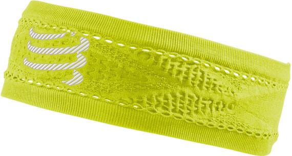 Compressport Thin On/Off Headband Fluo Yellow